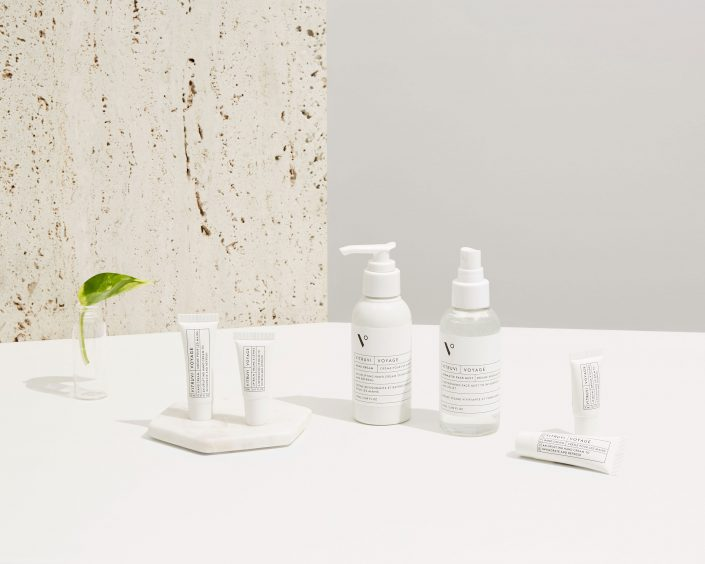 VITRUVIVoyage Collection, travel essentials specifically curated for wellness inflight and in bathrooms