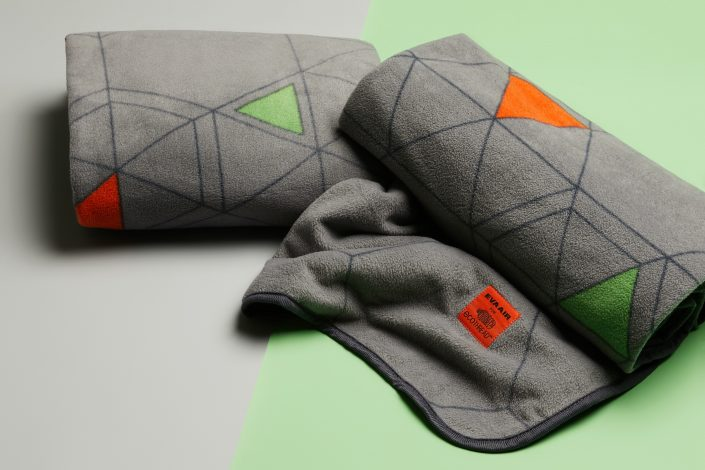 Warm and soft sustainable blankets made from recycled bottles